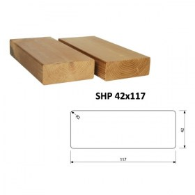 Hranol ThermoWood SHP 42x117 mm