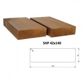 Hranol ThermoWood SHP 42x140 mm