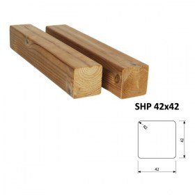 Hranol ThermoWood SHP 42x42 mm