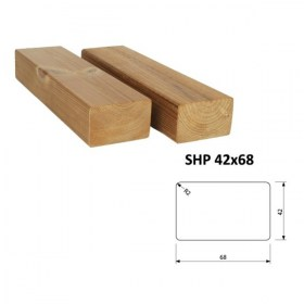 Hranol ThermoWood SHP 42x68 mm
