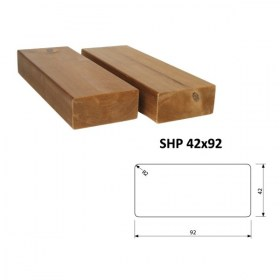 Hranol ThermoWood SHP 42x92 mm