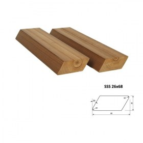 Profil ThermoWood SSS 26x68 mm