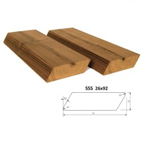 Profil ThermoWood SSS 26x92 mm
